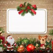 Christmas greeting card — Stock Photo #17211735