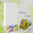 Royalty-Free Stock Photo: Easter greeting card with frame