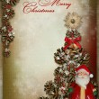 Christmas greeting card — Stock Photo #33652819