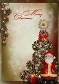 Christmas greeting card — Stock fotografie