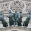 The Quadriga on the Bolshoi Theatre — Stock Photo
