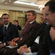 Постер, плакат: Arkady Dvorkovich German Gref and Sergey Katyrin