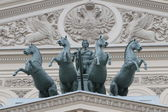 The Quadriga on the Bolshoi Theatre — Zdjęcie stockowe