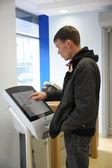 Automated teller machine VTB 24 — Stock Photo