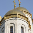Stock Photo: Temple of all saints on a burial mound, city Volgograd, Russia