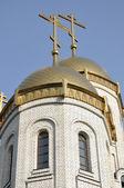 すべての聖人の埋葬塚、市ボルゴグラード, ロシアの寺院 — ストック写真
