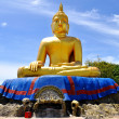 Buddha statue in the morning at Thumkaotao Hua Hin, Thailand — Stock Photo #14951729
