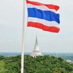 Постер, плакат: Kao Wang Pagoda in Petchaburi Thailand