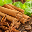 Cinnamon sticks — Stockfoto #25150821