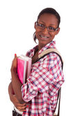 College student young African American — Stock Photo