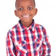 Adorable african little boy  — Stock Photo