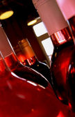 Wine Bottles Pink — Stock Photo