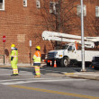 Utility Workers — Stock Photo