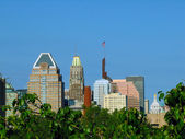 Baltimore Skyline — Stock Photo