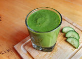 Green Smoothie Drink — Stock Photo