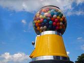 Big Gumball Machine and Sky — Stock Photo