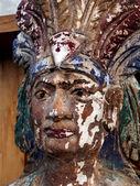 Sigaar winkel indiase portret — Stockfoto