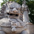 Chinese Foo Dog Lion — Stock Photo