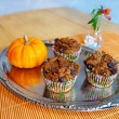 Healthy Pumpkin Muffins — Stock Photo #35633081