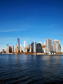 Lower Manhattan Vertical — Stock Photo