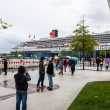 Transatlantic ocean liner RMS Queen Mary 2 — Foto de Stock