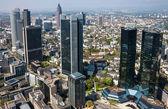 Skyline de frankfurt — Foto Stock