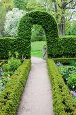Botanical garden in Muenster — Stock Photo