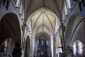 Interior o fSt. Paulus cathedral in Muenster — Stock Photo