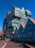 Arquitectura en zaandam — Foto de Stock