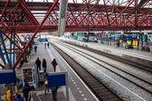 Railway station in Zaandam — 图库照片