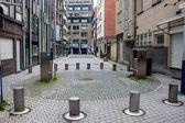 Calle en el distrito de los diamantes en Amberes — Foto de Stock