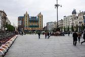 Koningin Astrid Plein Square in Antwerp — Stok fotoğraf