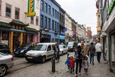 People in Chinatown in Antwerp — Stock Photo