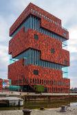 MAS museum in Antwerp — Stock Photo