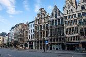 Market square in Antwerp — Stock Photo