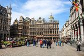 Bruxelas, grand place — Foto Stock