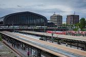 Hamburg Central train station — Stock Photo