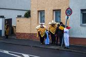 Tradicional carnaval en bonn — Foto de Stock