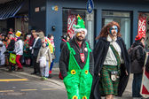 People during a carnival in Cologne — Foto de Stock
