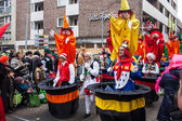 People at a carnival in Cologne — Foto de Stock