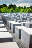Holocaust momorial in Berlin — Foto Stock