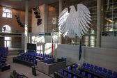 Interior of Reichstag, Berlin — Stock Photo