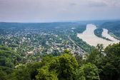 View of Rhine valley — Stock Photo