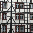Detail of typical half timbered house — Stock Photo #44234349