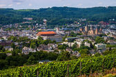 Aerial view of Trier — Stock Photo