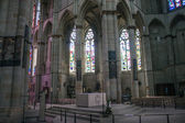 Interior of cathedral in Trier — 图库照片