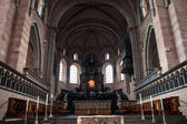 Interior of cathedral in Trier — Stockfoto
