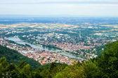 Aerial view of Heidelberg — Stock Photo
