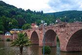 Old bridge in Heidelberg — Foto Stock