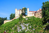 The castle of Hohenschwangau — Stock Photo